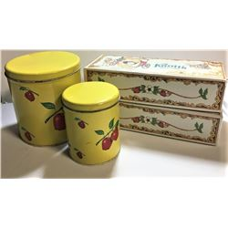 Vintage Containers - Empty and Knotts Berry Farm Boxes