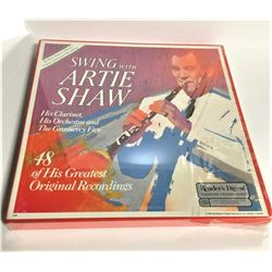 Swing With Artie Shaw 48 Of His Greatest Recordings Box Set 33rpm