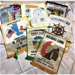 Lions Club Banners - Quantity of 20 Banners