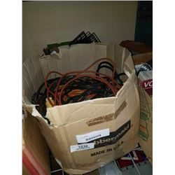 2 BOXES OF EXTENTION CORDS AND SHELFS