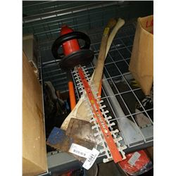 ELECTRIC HEDGE TRIMMER, 2 AXES AND PRUNER