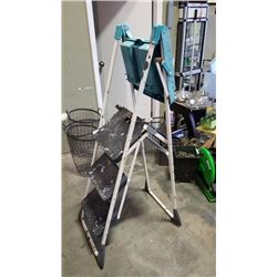 4 FOOT PAINTERS LADDER