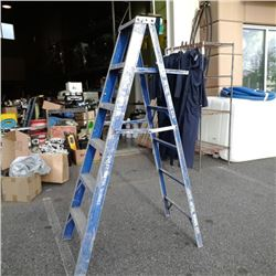 6FT A FRAME ALUMINUM LADDER