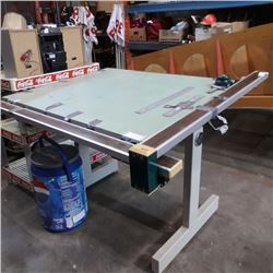 KEUFFELAND ESSER CO DRAFTING TABLE