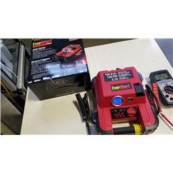 EVERSTART 750A JUMP STARTER PLUS IN BOX