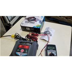 SCHUMACHER 15A BATTERY CHARGER IN BOX