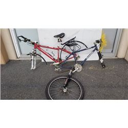 ROCKY MOUNTAIN AND BRODIE BIKE FRAMES WITH PARTS