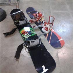 LIQUID AND NITRO SNOWBOARDS