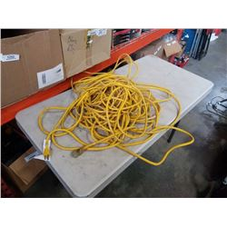 2 LARGE EXTENTION CORDS