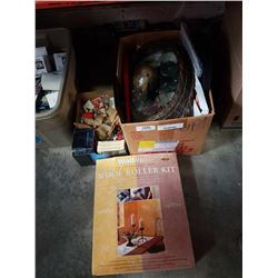 2 boxes of estate collectibles