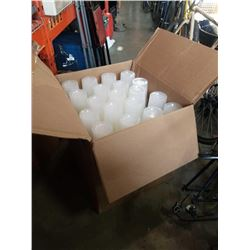 CASE OF PLASTIC 32 OZ CONTAINERS