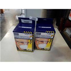 2 BOXES N95 MASKS