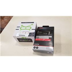 ANDROID TV BOX AND HDMI SPLITTER
