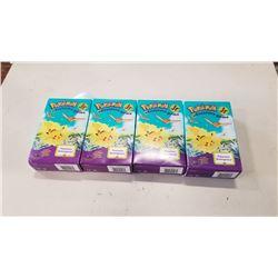 4 BOXES OF SEALED POKEMON JR ADVENTURE GAME
