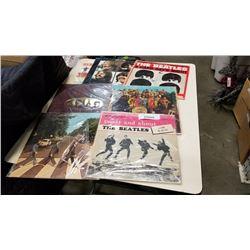 7 BEATLES RECORDS
