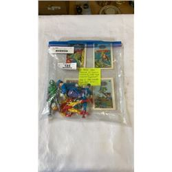 """4 RARE 1984 KENNER DC COMICS INCLUDING #1 SUPER POWER COLLECTION """"SUPERMAN"""", AND 4 1984 KENNER SUPER"""