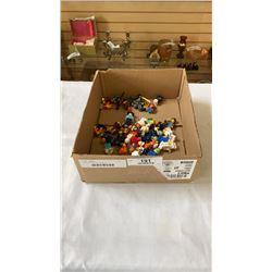 BOX OF 40 LEGO FIGURES