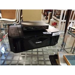 DVD PLAYER AND CANON PRINTER