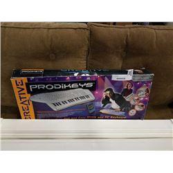 CREATIVE PRODIKEYS MUSIC AND PC KEYBOARD