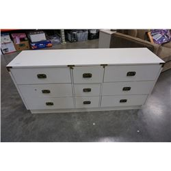 INDUSTRIAL CHEST OF 9 DRAWERS