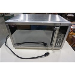 DANBY STAINLESS STEEL MICROWAVE - WORKING