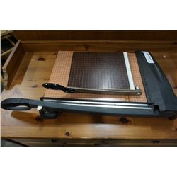 EXACTO PAPER CUTTER AND SMALL VINTAGE PAPER CUTTER