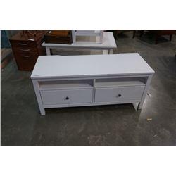 WHITE IKEA CONSOLE