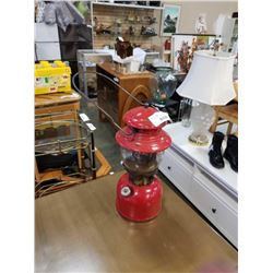 VINTAGE RED COLEMAN LAMP