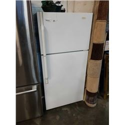 WHITE MAYTAG PERFORMANCE REFRIDGERATOR - APPPX 28 INCHES ACROSS