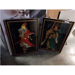 2 LARGE EASTERN PICTURES