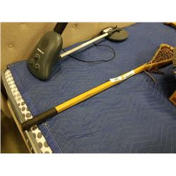 VINTAGE LACROSSE STICK THE BENEDICT IROQUOIS HANDCRAFTED AKWESASNE RESERVE