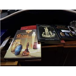 LOT OF BOOKS ON COLLECTABLES, IVORY, ANTIQUES