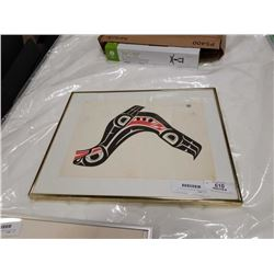 SIGNED FIRST NATIONS ART C W, SEAL