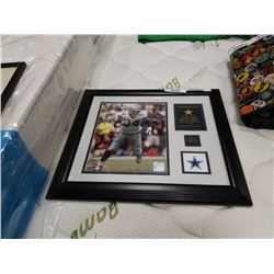 DEMARCUS WARE DALLAS COWBOYS FRAMED LIMITED EDITION W/ PIECE OF GAME BALL