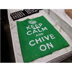 LARGE KEEP CALM AND CHIVE ON FLAG