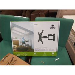 NEW OVERSTOCK KANTO PS400 30-70 INCH FULL MOTION TV WALL MOUNT RETAIL $124.99