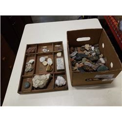 ROCK AND SPECIMEN COLLECTION