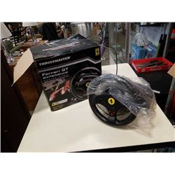 FERRARI THRUSTMASTER GT EXPERIENCE RACING WHEEL AND PEDALS