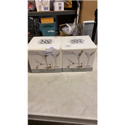 2 BOXES MARTINI GLASSES