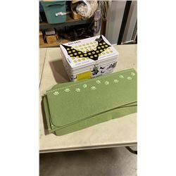 BAT SAFE BATTERY CHARGING SAFE BOX AND FELT PET STAIR COVERS