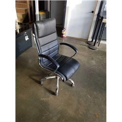 LEATHER GAS LIFT OFFICE CHAIR