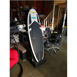 SURFSET FITNESS RIP SURFER X SURF FITNESS TRAINING BOARD WITH STAND