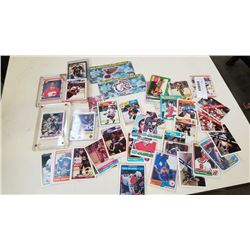 LOT OF MOSTLY 70s AND 80s NHL HOCKEY CARDS