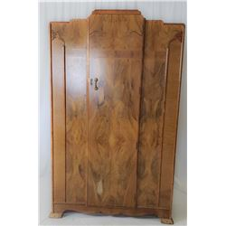 Collectible - Vintage Art Deco Style Armoire