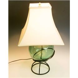 Collectible - Large Blown Glass Lamp