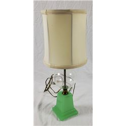 Collectible - Early 20th Century Jadeite Lamp
