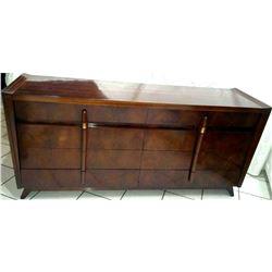 Collectible - Vintage John Cameron 8 Drawer Dresser