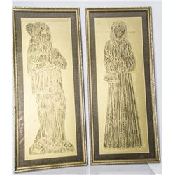 Collectible - Brass Rubbing Art