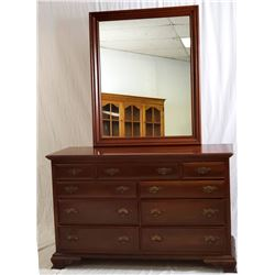Collectible - TAYLOR JAMESTOWN FURNITURE SOLID CHERRY CHEST
