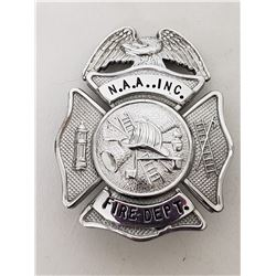 Collectible - N.A.A. Inc (North American Aviation Inc) Fire Dept Badge